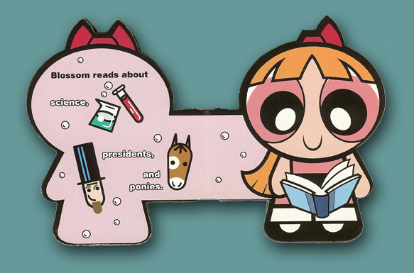 Board Books Powerpuff Girls Blossom