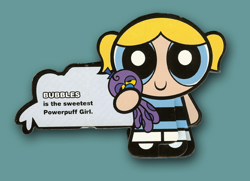 Board Books Powerpuff Girls Bubbles