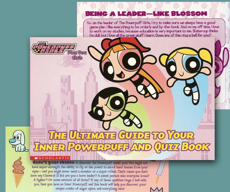 Scholastic Books Inner Powerpuff